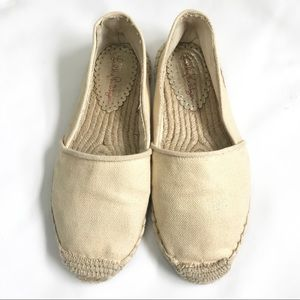 Lilly Pulitzer Gold Lia Espadrille Flats